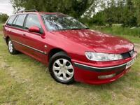 DIESEL ESTATE - PEUGEOT 406 - LONG MOT - FULLY SERVICED - 2 OWNERS FROM NEW