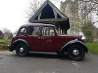 Austin Ten 1938 classic car