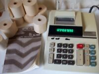 SHARP ELECTRONIC PRINTING CALCULATOR EL-1607