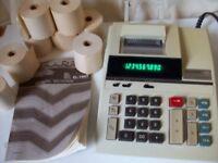 SHARP ELECTRONIC PRINTING CALCULATOR EL-1607
