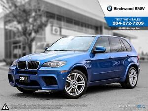 2011 BMW X5 M AWD 4dr Executive Package! Local Car!