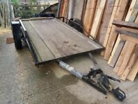 LARGE TRAILER JUST £200 GOOD PRICE FOR STURDY TRAILER