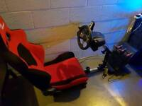 Logitech G27 Racing Setup