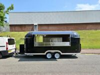 New Type Approved Airstream Catering Trailer Burger Pizza Bar Coffee Van 17ft 30th November