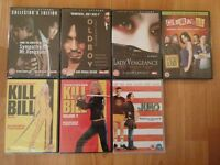 7 CULT MOVIES ON DVD ALL BRAND NEW AND SEALED