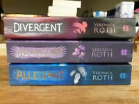 Divergent Trilogy by Veronica Roth - very good condition books