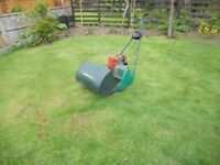 "Qualcast 17"" petrol lawn mower"