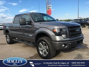 2013 Ford F-150 FX4, Leather, Loaded, Box Liner