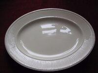 Wedgwood Edme Oval Serving Platter