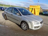 2005 FORD FOCUS 1.6 LX AUTOMATIC 5 DOOR HATCHBACK SILVER 12 MONTHS M.O.T
