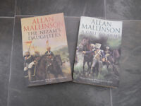 2 Books by Allan MAllinson The Nizam's Daughter and A Call to Arms