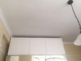 Wooden storage unit/ Cupboard , 66 CM in Height , 3 Doors Custom Made