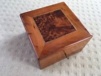 Handcrafted Cedar Wood Box - now REDUCED