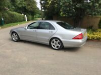 Mercedes S350 - Automatic - air con - sat nav - electric glass sunroof - leather seats