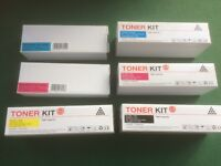 6 Brand new Compatible Dell 1320 toner cartridges also 2130CN & 2135CN
