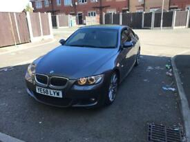 Bmw 335d coupe grey 2009