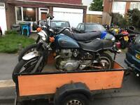 Honda cm400 hondamatic and cb250n superdream projects