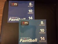 20 IPG Paintball Tickets + 3000 Paintballs FREE (face value £750) - Only £200