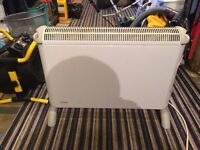 Dimplex 3072 2kw Convector Heater with Thermostat Mechanical Timer