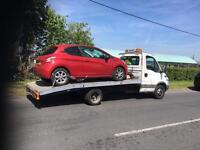 Car recovery car Brakdown car towing