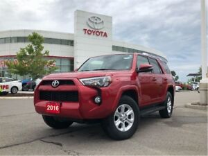 2016 Toyota 4Runner SR5 - Off-Lease / One-Owner / TCUV