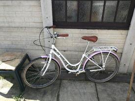 "Girls 16"" frame bike"