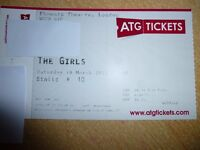 2 tickets for The Girl's Musical London Saturday 18th March 7.30pm STALLS ROW A!!!