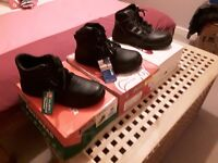 Mens steel toe cap safety boots brand new size 9