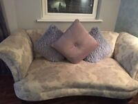 Two 3 seater sofa and matching footstool for sale, fantastic condition, non smoking home