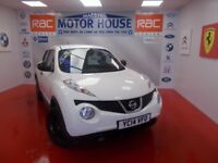 Nissan Juke VISIA DCI(£20.00 ROAD TAX) FREE MOT'S AS LONG AS YOU OWN THE CAR!!! (white) 2014