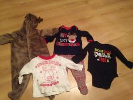 Baby clothes Christmas bundle 3-6months