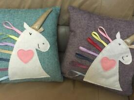 Unicorn Cushion handmade Christmas Gift