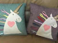 Unicorn Cushion handmade