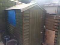 Small shed free to collect
