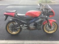 Aprilia tuono 125 ( complete bike but no engine )