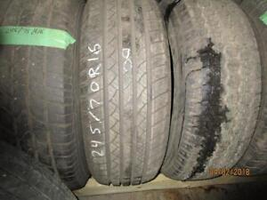 245/70R16 A SINGLE ONLY USED MATRIX A/S TIRE