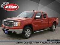 2012 GMC Sierra 1500 SLE Ext 4x4 - 5.3L, Z71, 18 Chrome Alloys