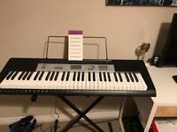 Casio Synthesiser Keyboard + Headphones