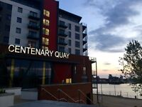 1 room in new build 2 bed waterside apartment