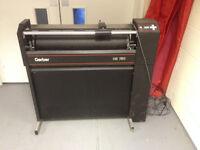 Gerber HS750 plotter for Sproketed vinyl 750 mm wide