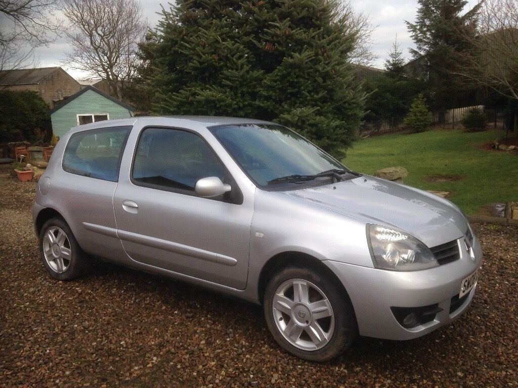 renault clio campus sport 16v 2008 3 door hatchback silver in inverurie aberdeenshire gumtree. Black Bedroom Furniture Sets. Home Design Ideas