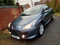 2006 PEUGEOT 307 1.6 CC (COUPE CABRIOLET *STUNNING* GREAT HISTORY JUST HAD FULL CAMBELT KIT. NEW MOT