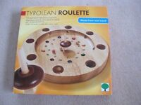 Tyroleon Wooden Roulette