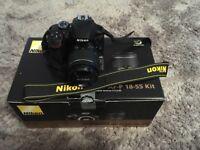 Nikon D3400 AF-P DX with Nikkor 18-55mm f/3.5-5.6g lens