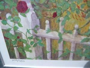 "Listed Artist Peter Robson ""Summer Fragrance"" Limited Edition Stratford Kitchener Area image 5"