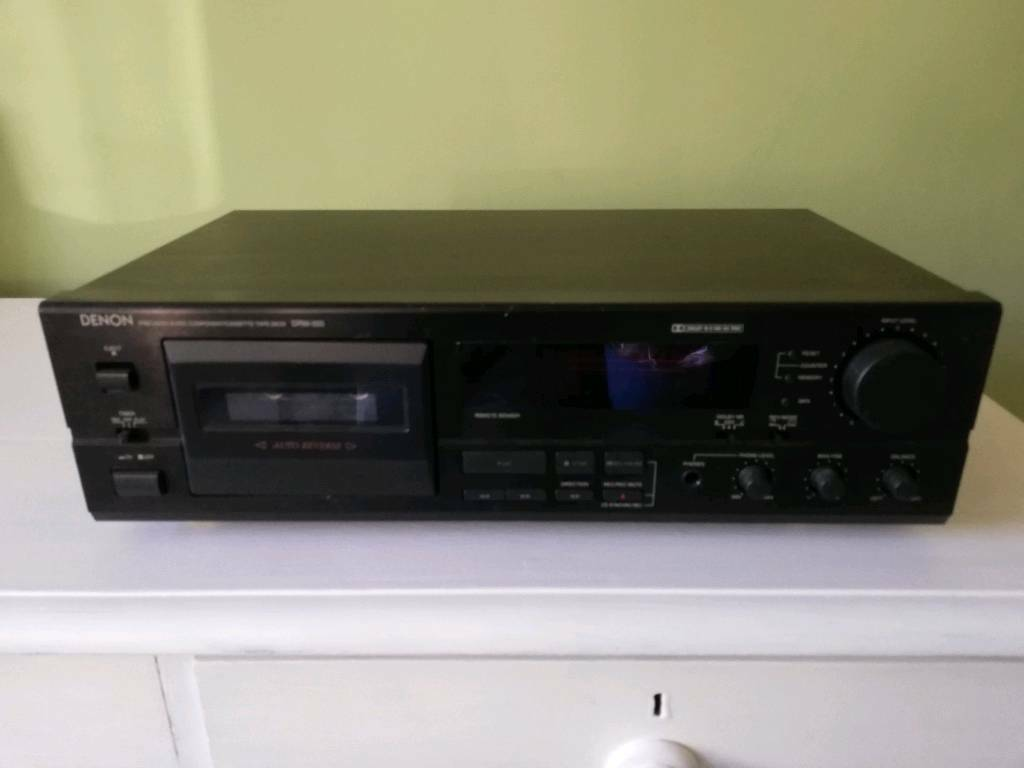 Denon DRM-555 Cassette player | in Petersfield, Hampshire | Gumtree