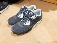 Nike Air Max 90 suede grey good condition size 9