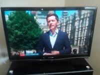 Tv for sale sharp aquos. Built in freeview 42inch. 40pounds ono