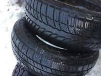 Tyres all with good tread 3 different sizes £20.00 a tyre