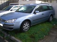55 PLATE MONDEO ESTATE TDCI - BREAKING FOR SPARES